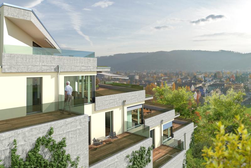 3 Terrassenhäuser